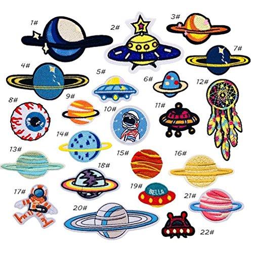 Bella 22pcs Parches Apliques Patches Sticker