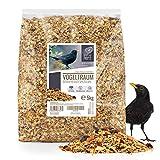corazón de Animal Salvaje | Sueño de pájaro Alimento Especial para mirlos con Bayas y Frutas 5 kg - alimento Premium para pájaros sin Trigo para Aves Silvestres