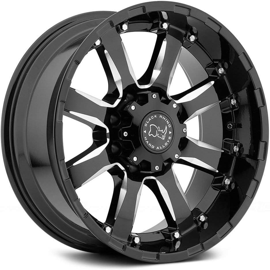 Max 51% OFF Black Rhino Sierra Max 63% OFF 20x10 6x139.7 Milled -12mm 6x5.5