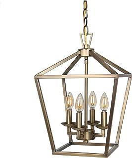Best 4 light lantern chandelier Reviews