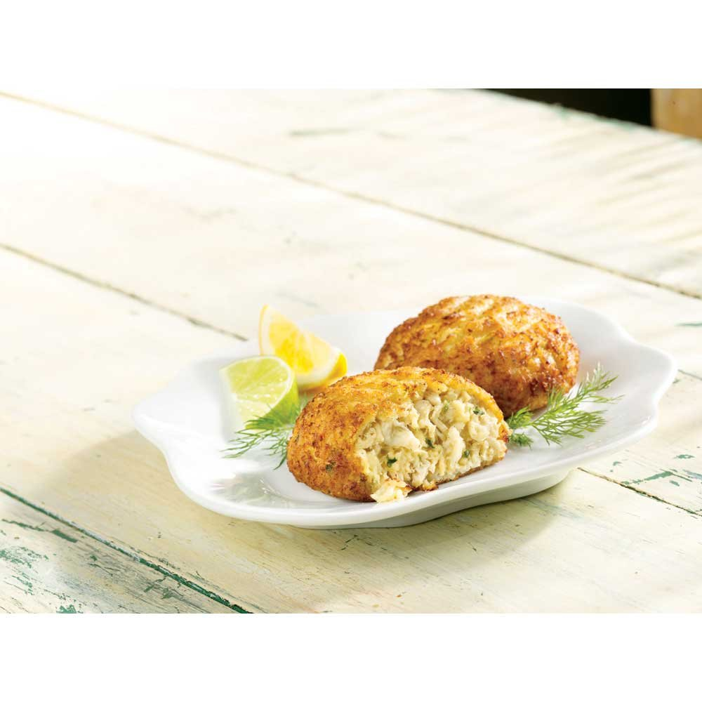 Maryland-Style unisex Crab Meat sale Cake 3 Ounce Pieces 9 -- 48 Pound of