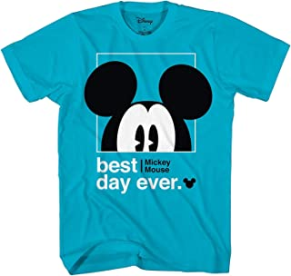 Disney Mickey Mouse Best Day Ever Toddler Youth Juvy Kids Adult T-Shirt