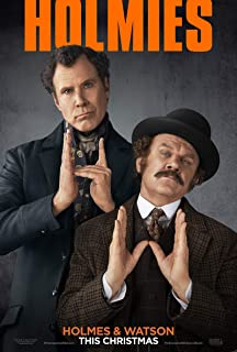 holmes and watson will ferrell poster