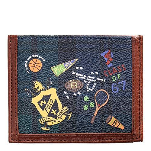 Polo Ralph Lauren Men`s Black Watch Heritage Card Case (Cartoon Blackwatch(6001), One Size)