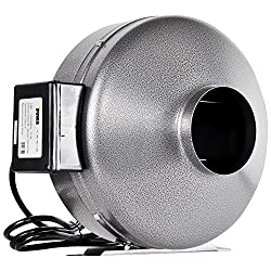 Buy iPower 6 Inch 442 CFM Duct Inline Fan Vent Blower for HVAC via Amazon