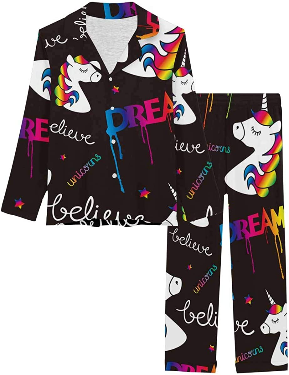 InterestPrint Notch Collar Max 74% OFF Max 63% OFF Loungewear f Soft Sleepwear Nightwear
