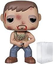 Funko Pop TV: The Walking Dead - Injured Daryl Dixon Vinyl Figure (Bundled with Pop Box Protector Case)