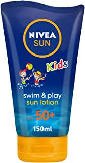 NIVEA, Sun Lotion, Kids Swim & Play, SPF 50+, 150ml