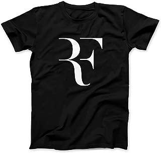 Otto's Art Roger Federer RF Logo- Men's Fashion T-Shirt
