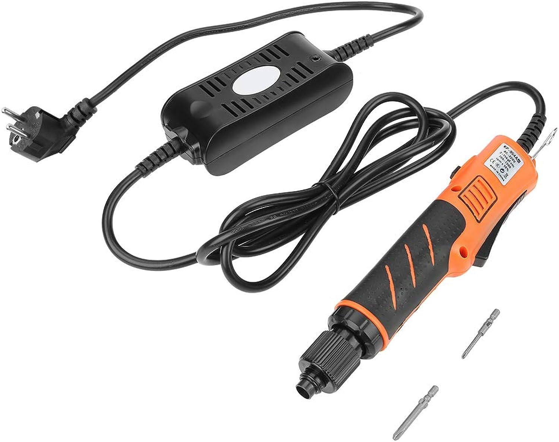 Elektrischer Schraubendreher Set, Verstellbarer Automatischer Automatischer Automatischer Schraubendreher 220V-Haltegriff Reparatur Tool-Kit mit Schraubendreher Bits für Hausaufgaben(EU-Stecker) B07MQ81B8G | Wirtschaftlich und praktisch  bba383