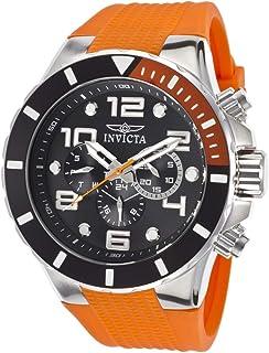 Invicta Pro Diver Men's Black Dial Plastic Band Chronograph Watch - INVICTA-18738