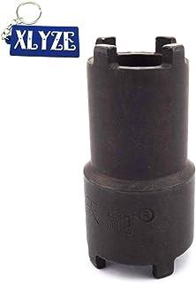 XLYZE 20mm 24mm Herramienta Embrague Aceite Filtro Tuerca de Bloqueo Tuerca de la Llave de tuerca