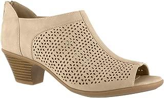 Easy Street Womens Steff Casual Heels & Pumps Shoes, Beige, 9