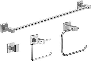 Symmons 36AC-BUNDLE Duro 4-Piece Wall-Mounted Bathroom Hardware Set in Polished Chrome