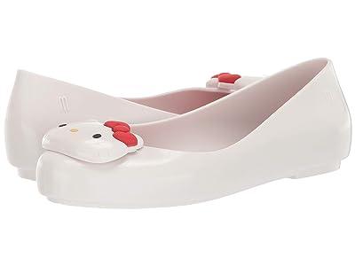 Mini Melissa Mel Space Love + Hello Kitty INF (Little Kid/Big Kid) (White) Girl