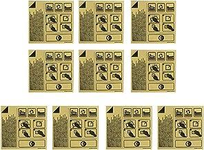 Parche de Reparación de 10 Piezas para Inflables, Kit de Parche de Reparación Transparente Autoadhesivo, Adhesivo de Reparación, Cinta de Reparación, Cortable, Herramienta de Reparación para Piscina