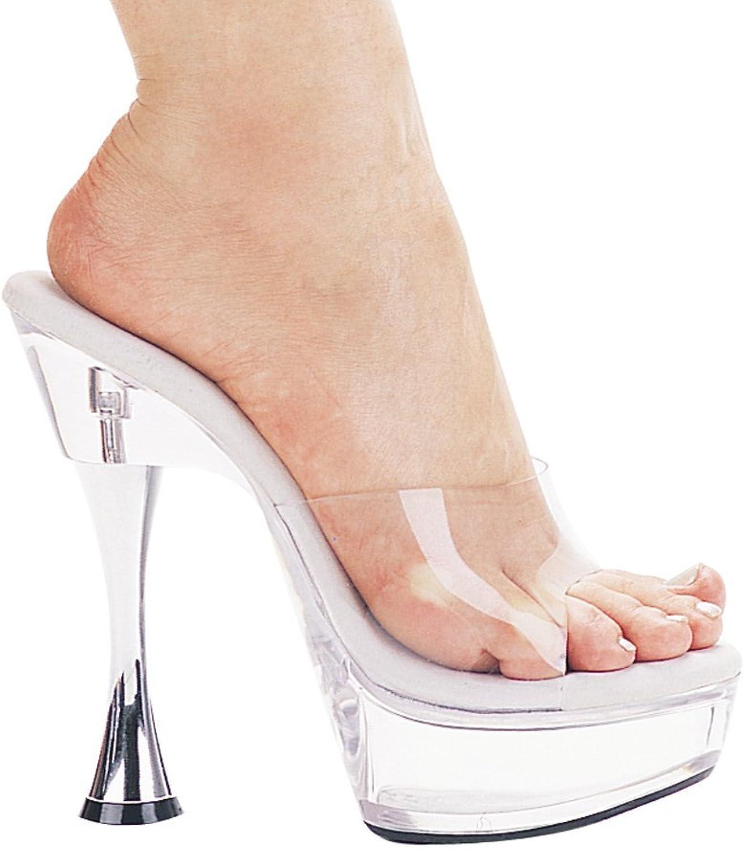 4 Inch Heel Clear Platform Stiletto shoes