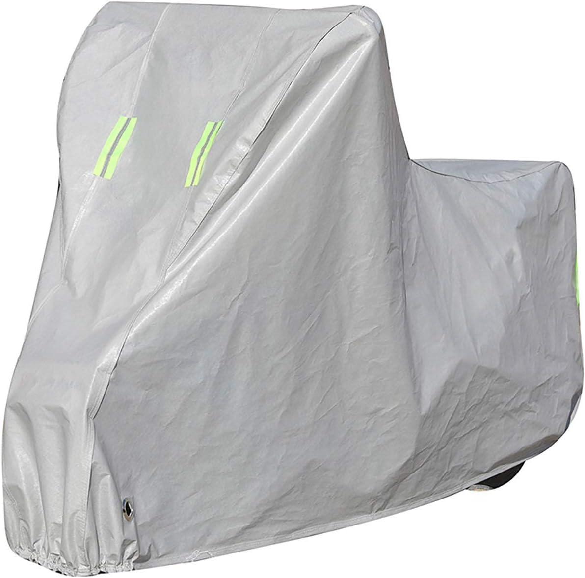 Funda para Moto Compatible con la cubierta de motocicleta SOCO TS LITE, cubierta de scooter de protección al aire libre para todas las estaciones, materiales compuestos con revestimiento de PE Durable