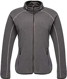 RIDDLED WITH STYLE Womens Full Zip Fleece Jacket Ladies Plain Outerwear 2 Pockets Winter Wear Warm Coat