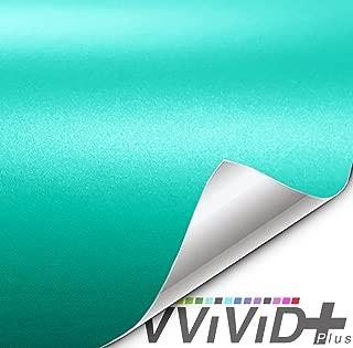 VViViD+ Matte Metallic Miami Teal Premium Vinyl Wrap Film (1ft x 5ft)