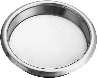 TOOGOO 58Mm Coffee Machine Blank Filter/Stainless Steel Backwash Cleaning Blind Bowl Coffee Machine Accessories