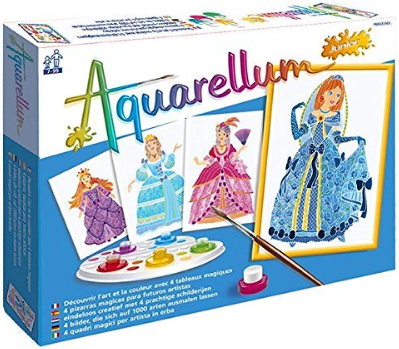 Aquarellum Kids Art Set Princesses by Aquarellum