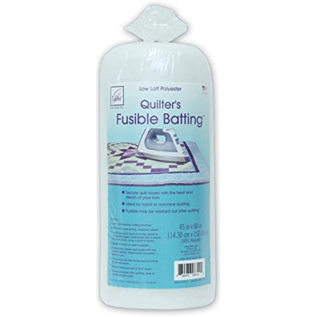 90 x 108-Inch//Queen June Tailor JT-833 Two-Sided Fusible Batting