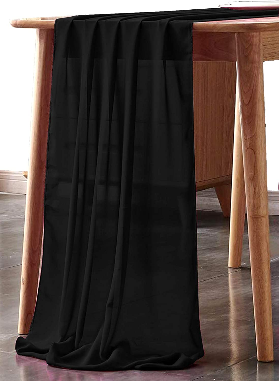mds Pack of 12 Wedding 27 x 170 Special price Tampa Mall Chiffon inch Table We Runner for