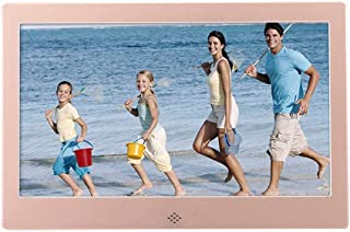 Digital Photo Frame,Metal, 10-Inch MP3 / MP4 Player Multi-Function Advertising Machine Electronic Picture Frame Support Mu...