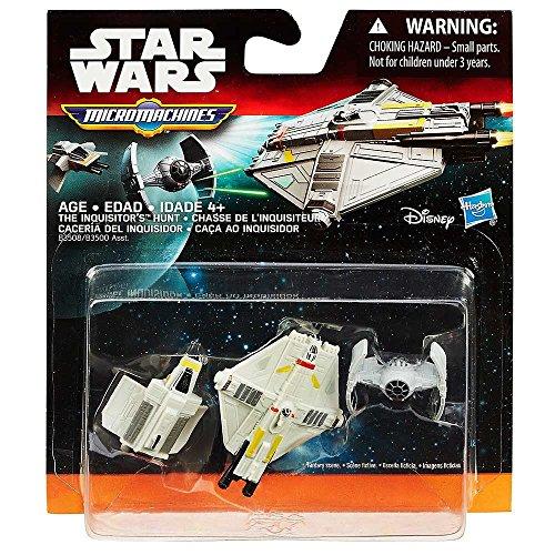 Star Wars Hasbro – B3508 – Micro Machines Rebels – Persecución de El Inquisidor