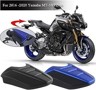 Nero FATExpress Motorcycle CNC Alluminio Posteriore Passeggero Sedile Maniglione Grab Bar Maniglia Kit Rail per 2013-2016 Yamaha MT FZ 09 MT-09 FZ-09 MT09 FZ09 2014 2015 13-16