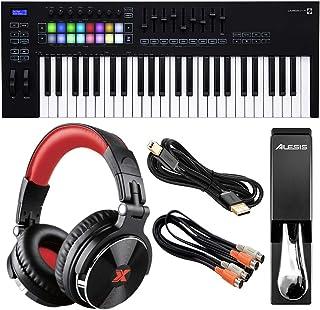 Novation Launchkey 49 MK3 USB MIDI Keyboard Controller (49-K
