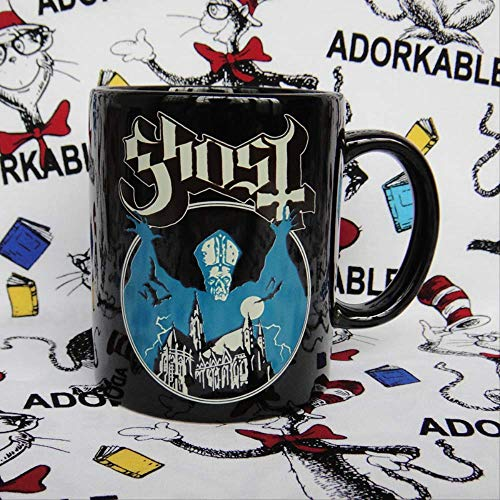 Swedish doom heavy metal band Ghost ceramic mark water cup