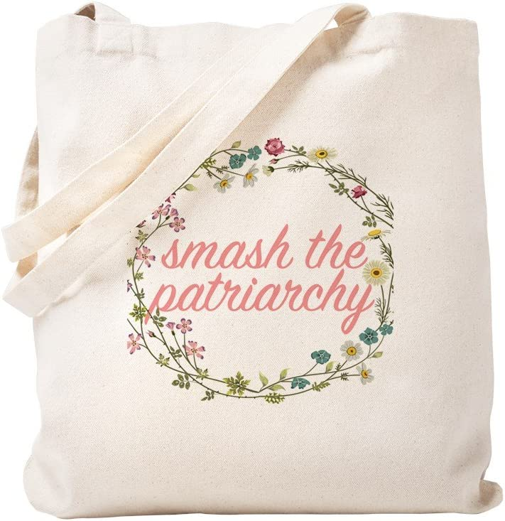 CafePress Complete Free Shipping Smash The Patriarchy Natural Bag New color Tote Canvas