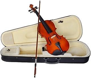 کمانچه ویولن صوتی طبیعی آکوستیک TMS 4/4 با رنگ چوب گل رز رز رنگ جدید