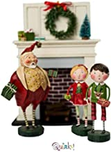 Kinks & Quirks Gift Exchange Set of 4 Lori Mitchell Figurines