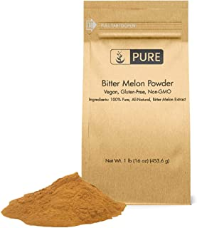 Bitter Melon Powder (1 lb), Eco-Friendly Packaging, 100% Pure & All-Natural, Non-GMO, Vegan & Gluten-Free, Vitamin-C Rich ...