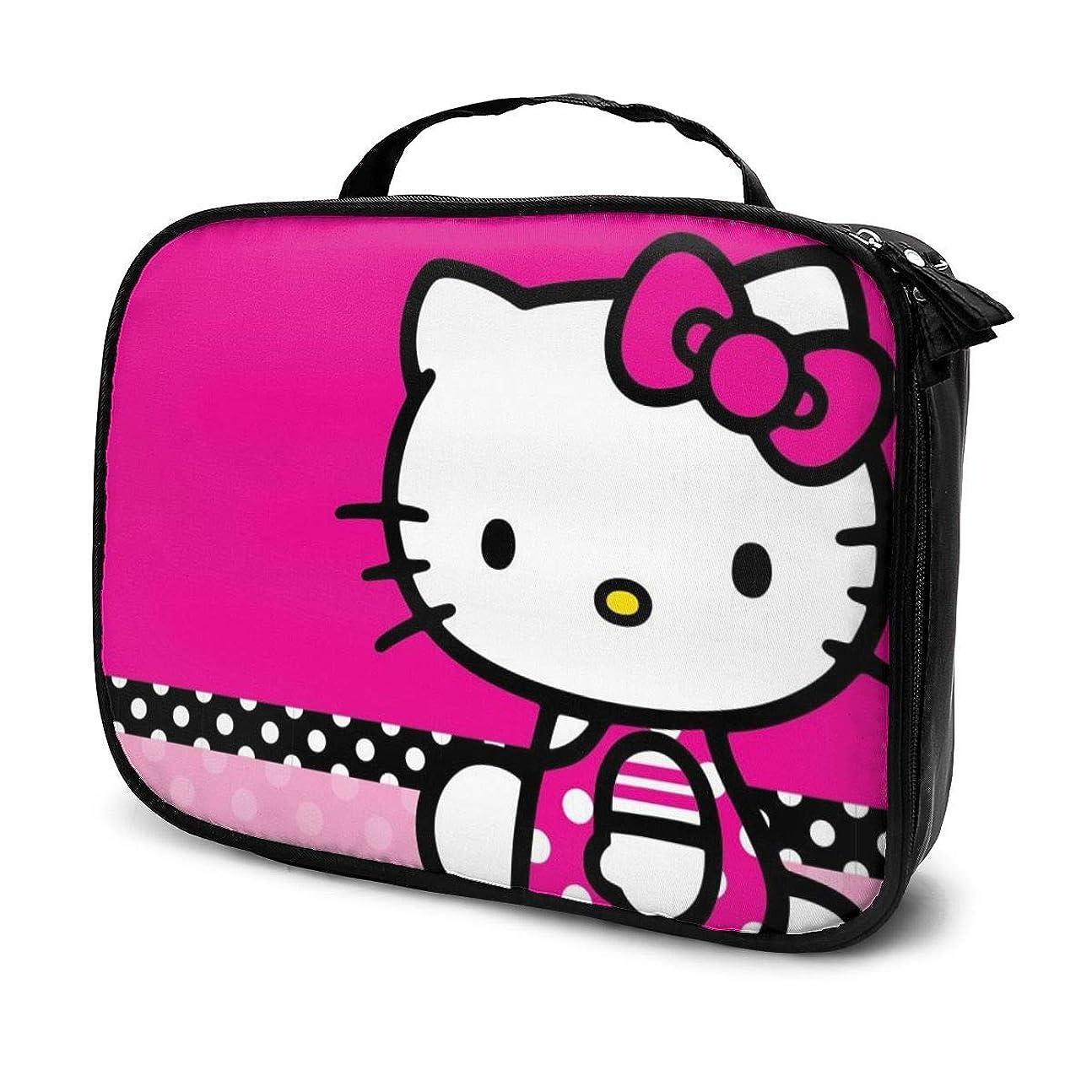 勃起封筒欲しいですDaituハローキティ 化粧品袋の女性旅行バッグ収納大容量防水アクセサリー旅行