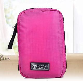 Cosmetische tas voor vrouwen, make-up tas, draagbare opvouwbare ritssluiting Grote capaciteit make-up voor op reis Meerder...