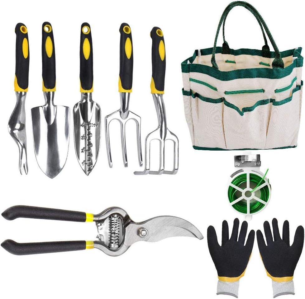 Max 90% OFF Garden Tools Dedication Set 9 Piece Aluminum Kits Duty Gardening Heavy Pl