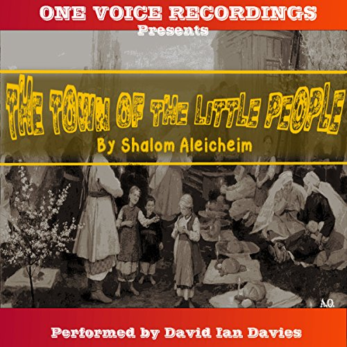 The Town of the Little People audiobook cover art