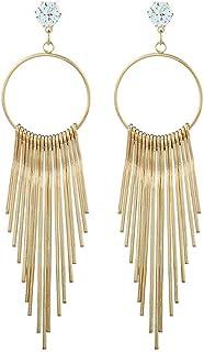 Hosaire Hosaire Ohrringe Mode Übertriebene Lange Quasten Damen Ohrring für Geburtstag Geschenk Ohrhänger