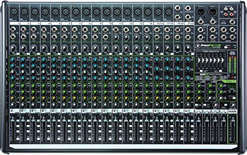 Mackie profx8V28-Kanal Professional FX-Mixer mit USB 22 Channel schwarz