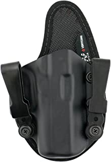 StealthGear USA SG-Ventcore Appendix Hybrid Holster - tuckable, Adjustable, Inside Waistband Concealed Carry Holster - Made in USA