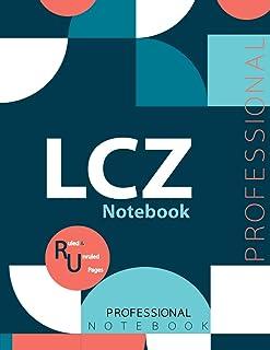 "LCZ Notebook, Examination Preparation Notebook, Study writing notebook, Office writing notebook, 140 pages, 8.5"" x 11"", Gl..."