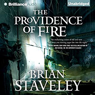 The Providence of Fire audiobook cover art