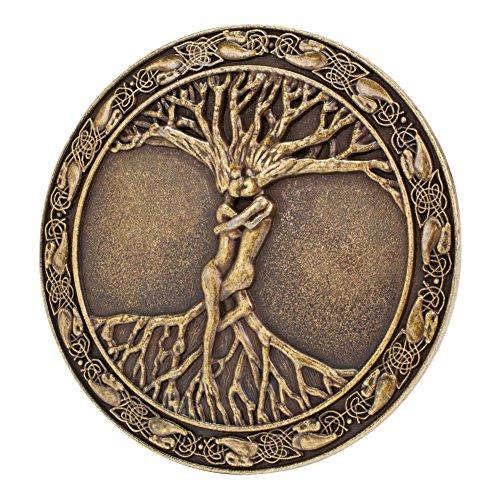 Buckle Rage Celtic Tree of Life Belt Buckle Bronze, 1.5inch