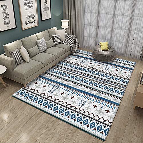 Round Ball Modern Style Carpet Living Room Carpet Rug Carpet Comfortable Anti-Static Large Size Bedroom Bedside Mat 40X60CM