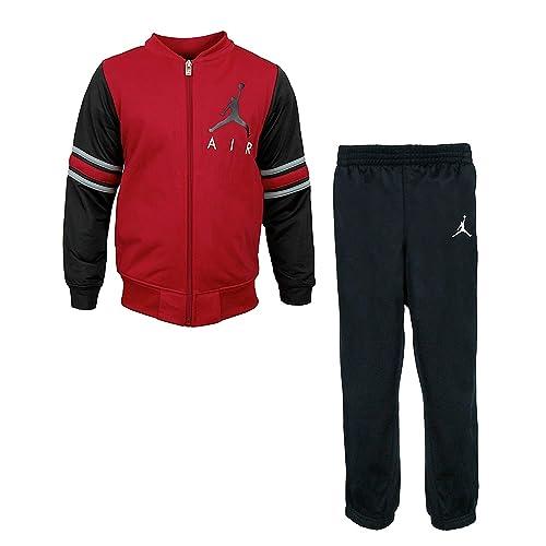 707062a3daa Jordan Nike Air Boys' Jacket Tracksuit Pants Outfit Track Set