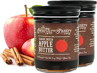 Sponsored Ad - Hearth and Pantry Apple Butter Spread - Classic Dutch Apple Fruit Butter - Gluten Free - All-Natural Ingred...